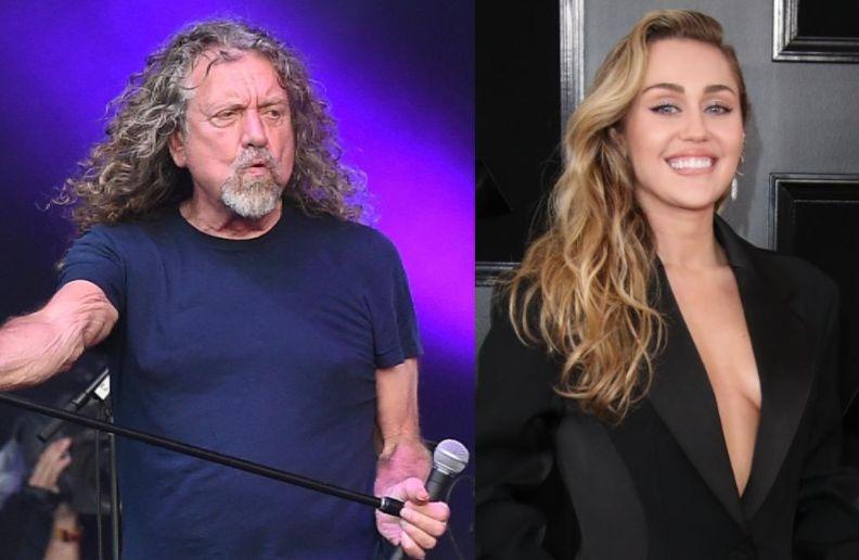 Robert Plant Miley Cyrus