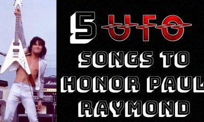 5 UFO songs to honor Paul Raymonds memory