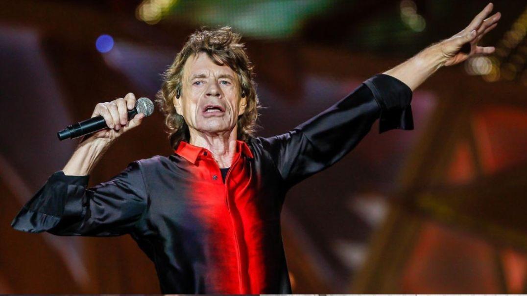 Mick Jagger concert