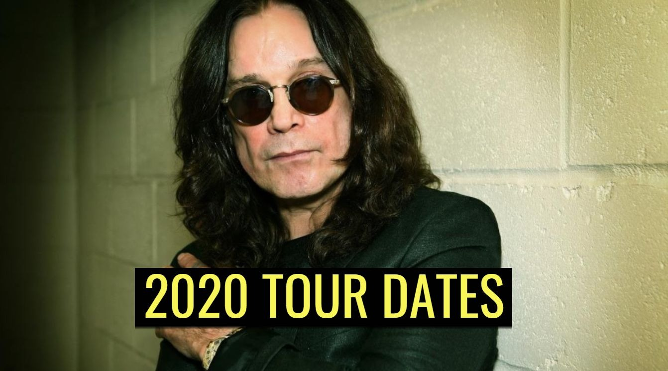 Ozzy Osbourne 2020 tour dates