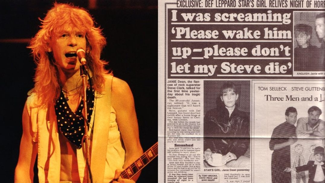 Steve Clark death