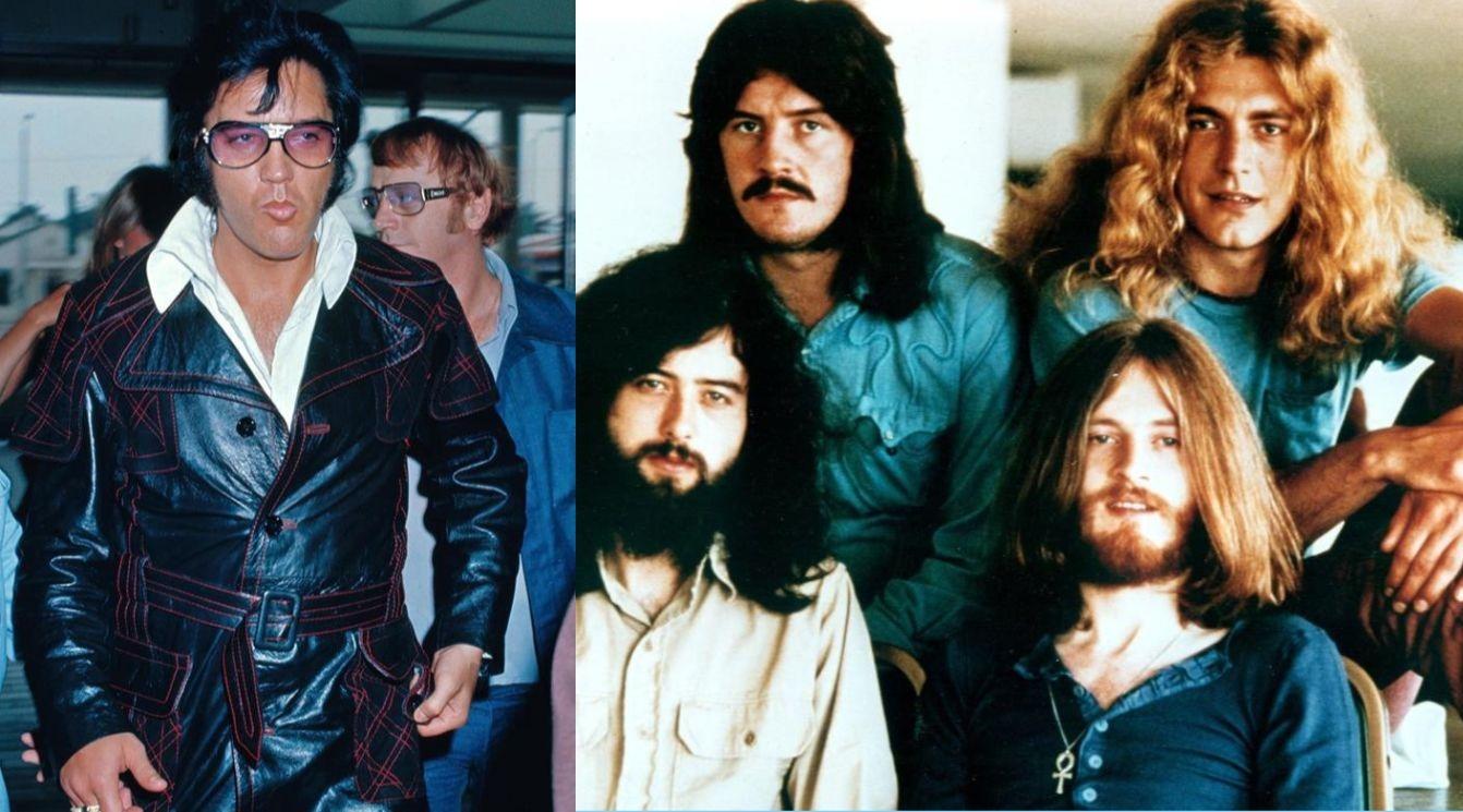 Elvis Presley and Led Zeppelin