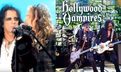 Hollywood Vampires Steven Tyler