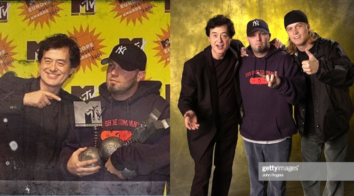 Jimmy Page Fred Durst