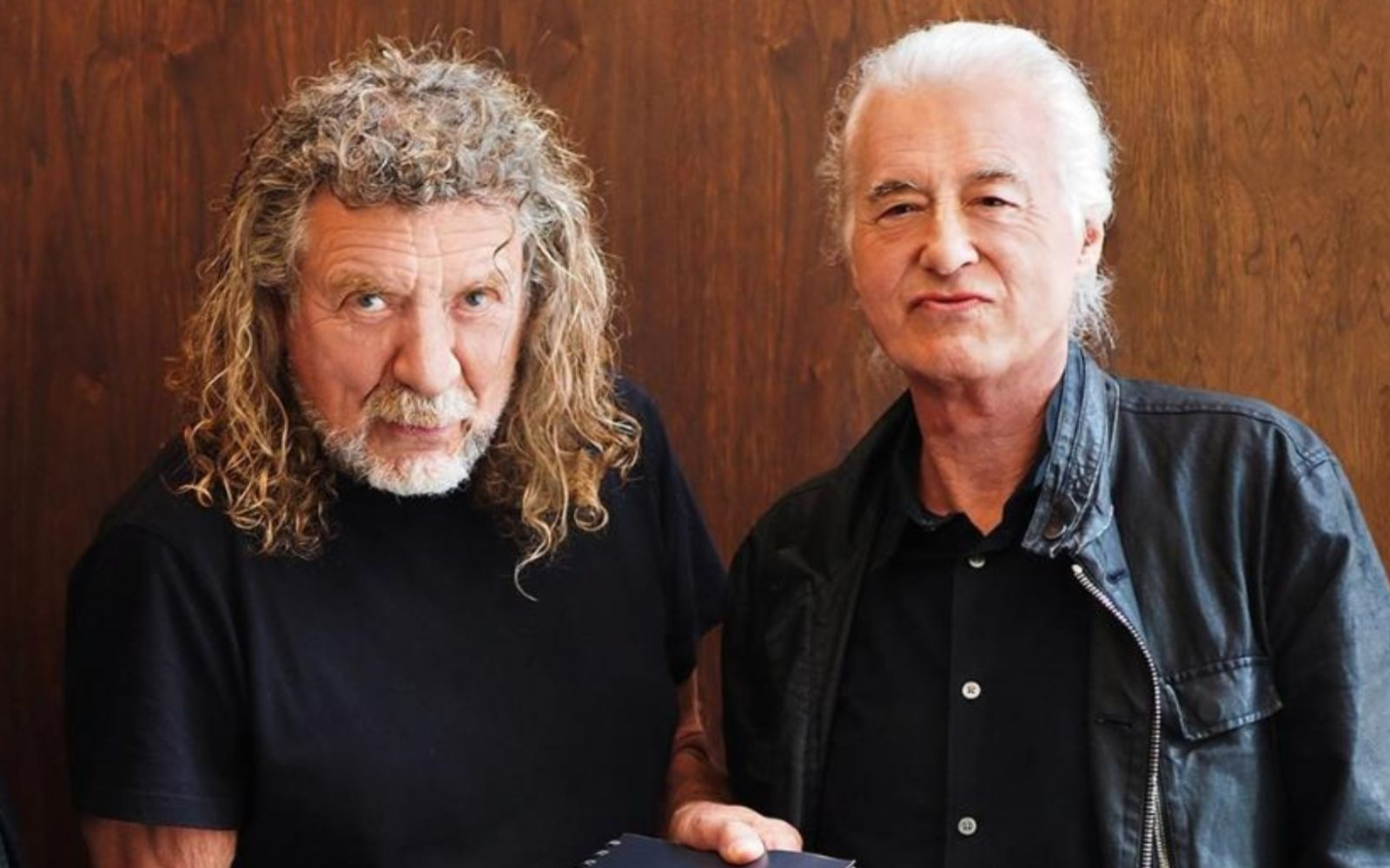 Robert Plant and Jimmy Page (1)