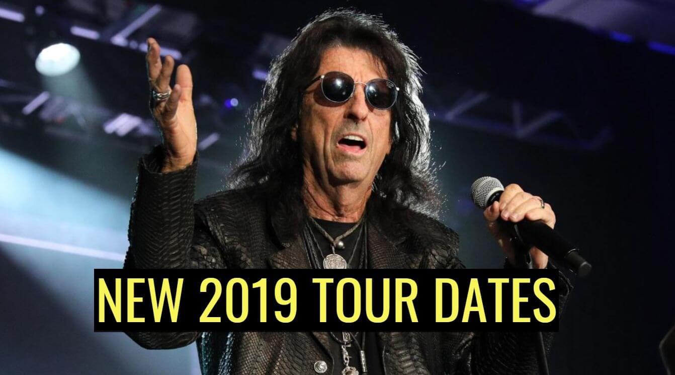 Alice Cooper new 2019 tour dates