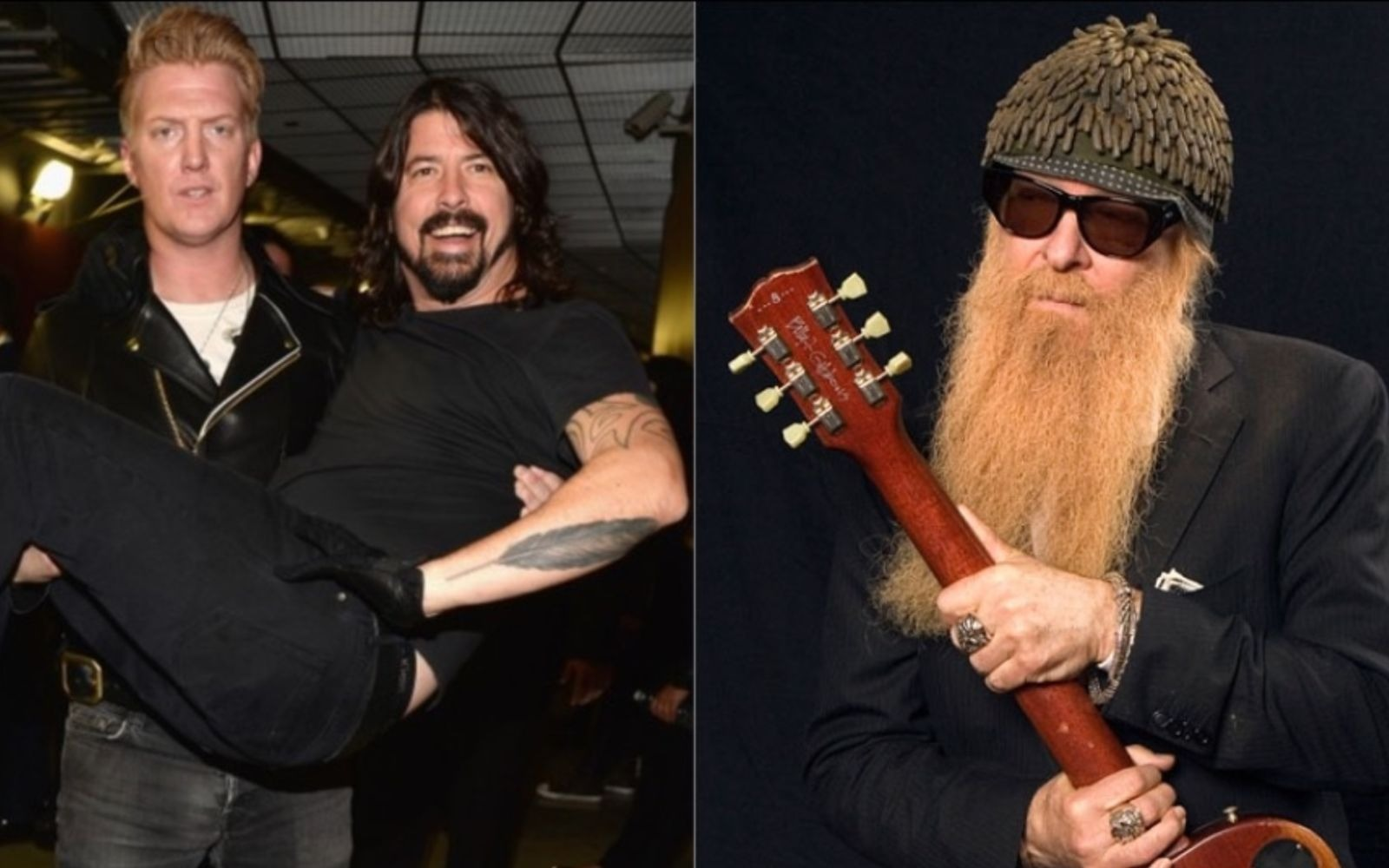 Dave Grohl Josh Homme Billy Gibbons