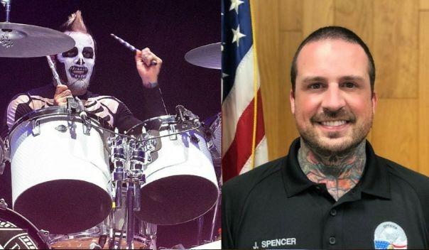 Five Finger Death Punch drummer police