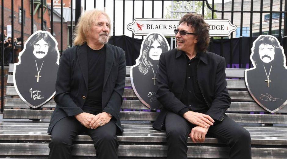 Geezer Butler Tony Iommi 2019