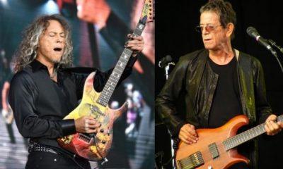 Kirk Hammett Lou Reed