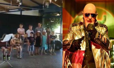 Children Choir sing Judas Priest