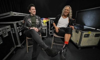 Tobias Forge Kirk Hammett
