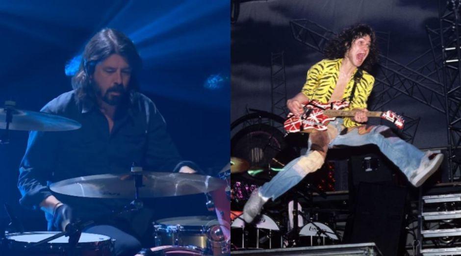 Dave Grohl Eddie Van Halen