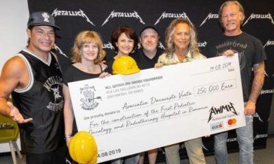 Metallica donate 2019