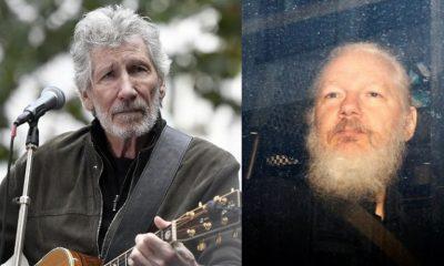 Roger Waters Julian Assange