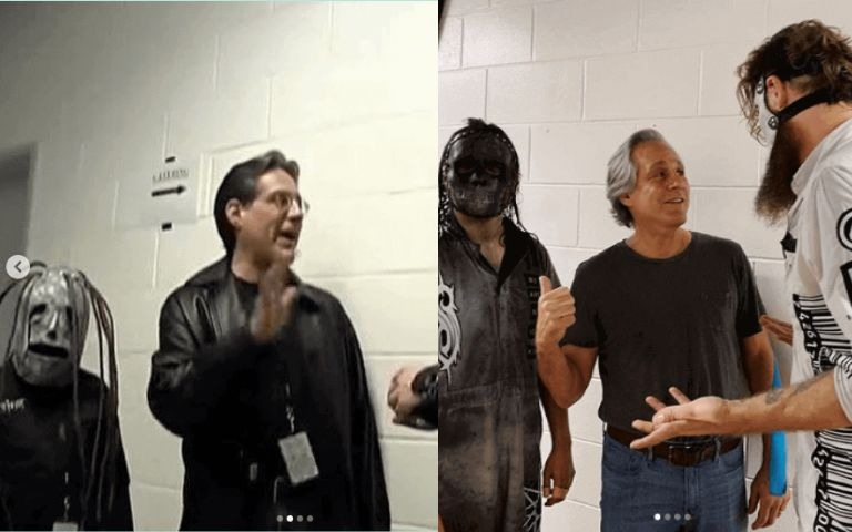 Slipknot drummer fan photo