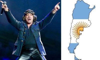 Bruce Dickinson Argentina