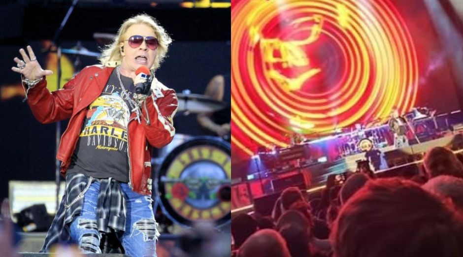 Guns N Roses banned fan