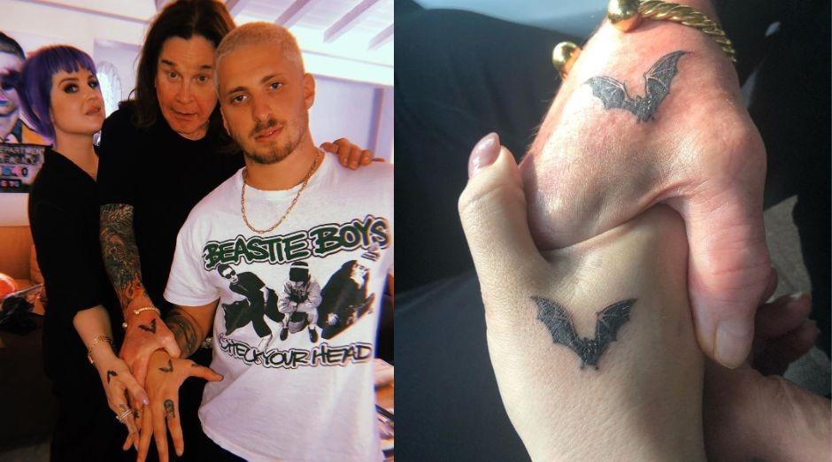 Ozzy Osbourne Kelly Osbourne tattoo