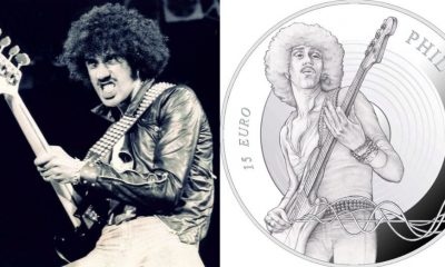 Phill Lynott Thin Lizzy coin