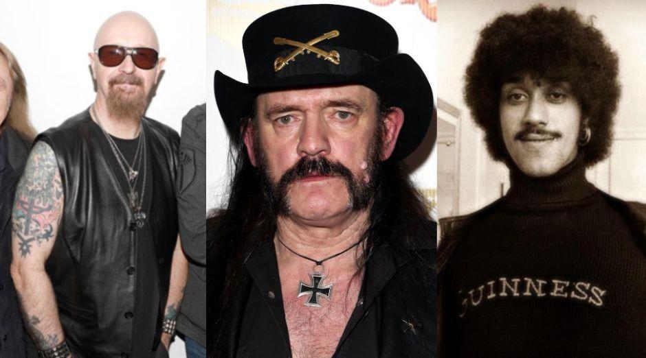 Rob Halford Lemmy Phill Lynott
