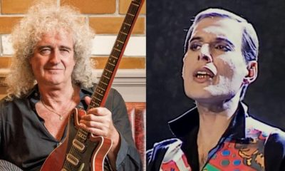 Brian May Freddie Mercury