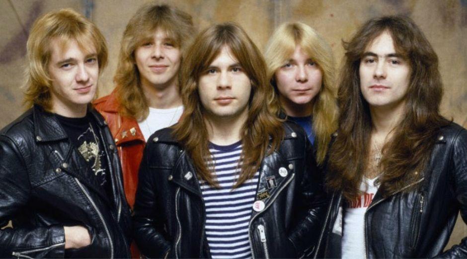 Bruce Dickinson Maiden 1982