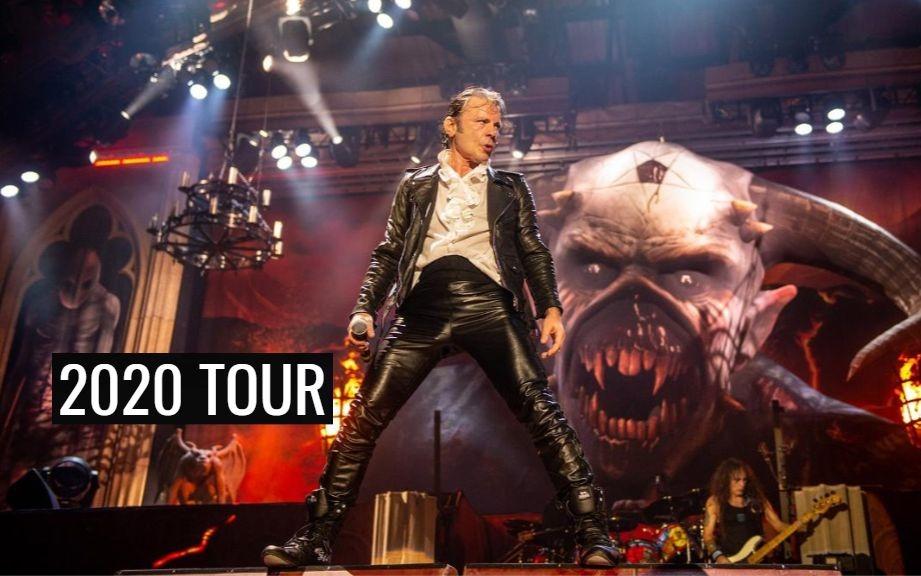 Iron Maiden 2020 tour