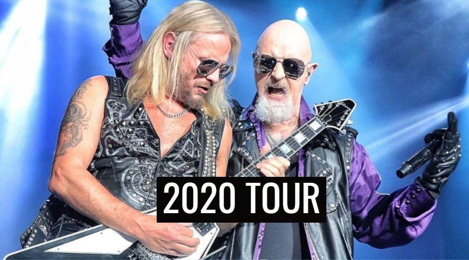 Judas Priest 2020 tour