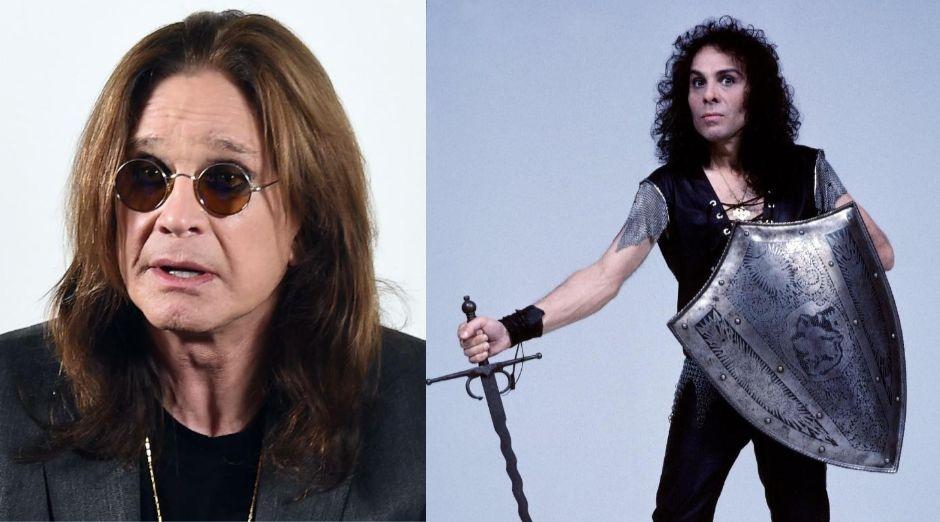 Ozzy Osbourne Ronnie James Dio