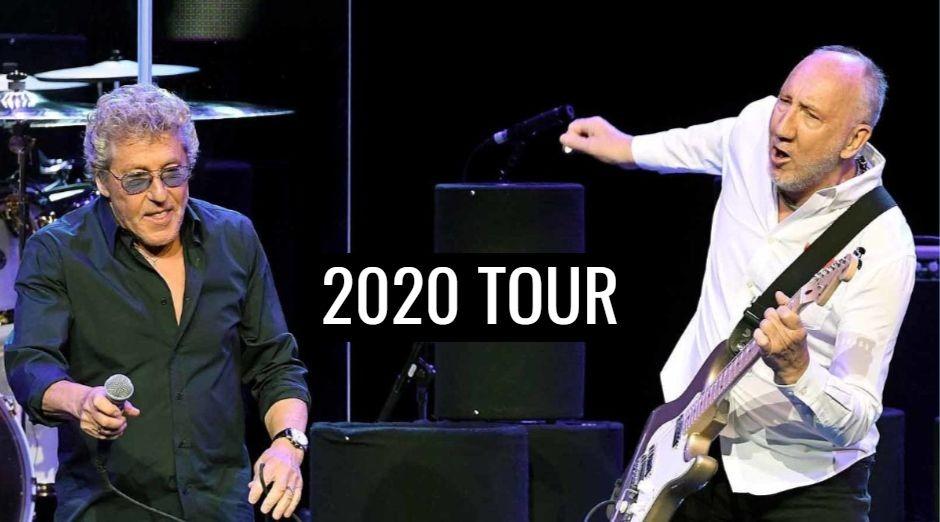 The Who 2020 tour