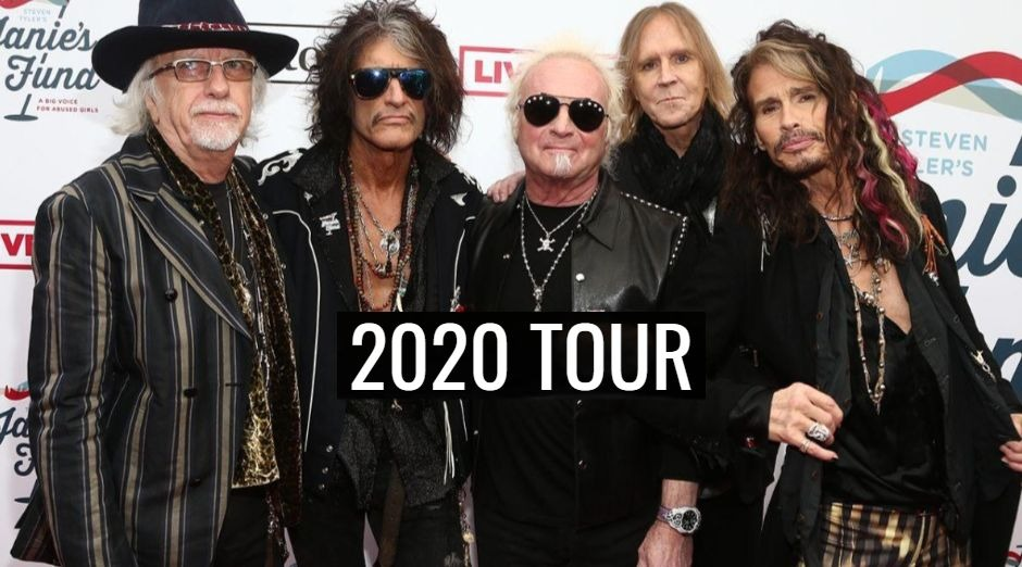 Aerosmith 2020 tour