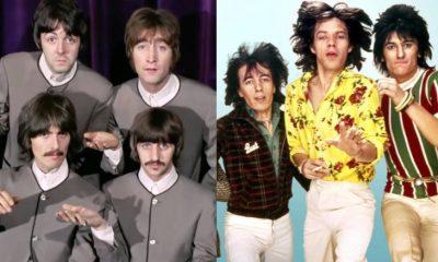 Beatles Rolling Stones