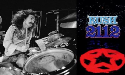 Neil Peart isolated drums 2112