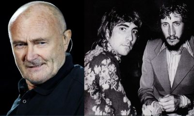 Phil Collins Keith Moon Pete Townshend
