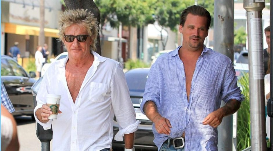 Rod Stewart and son arrested