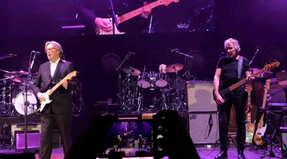 Ginger Baker Eric Clapton Roger Waters