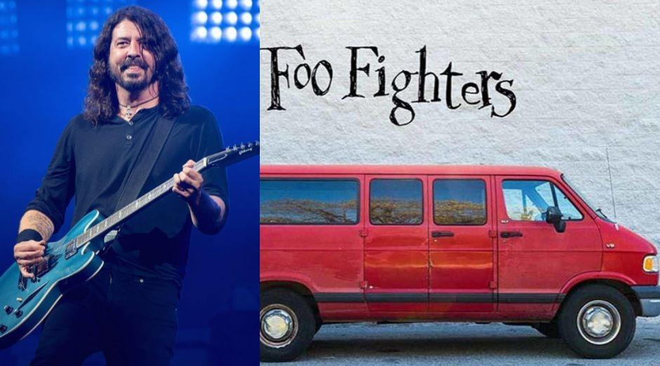 Foo Fighters van