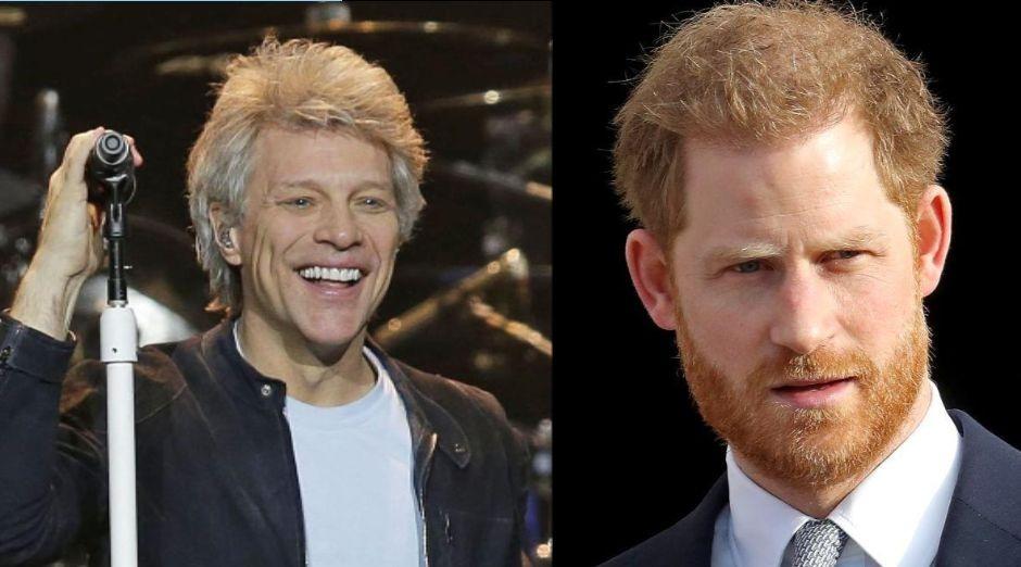 Jon Bon Jovi Prince Harry