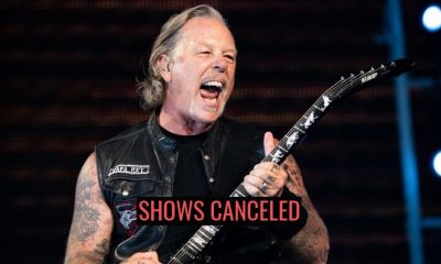 Metallica shows canceled