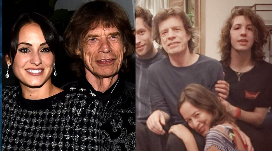 Mick Jagger girlfriend and children