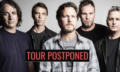 Pearl Jam tour postponed