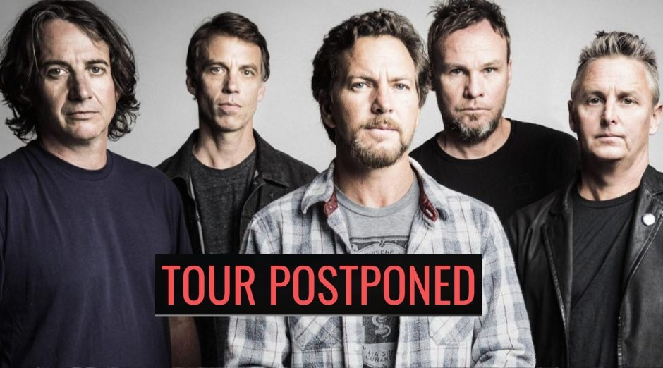 Pearl Jam tour postponed