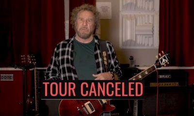 Sammy Hagar tour canceled