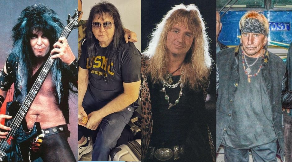How Glam rock singers from the 80s look like three decades later