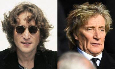 John Lennon Rod Stewart