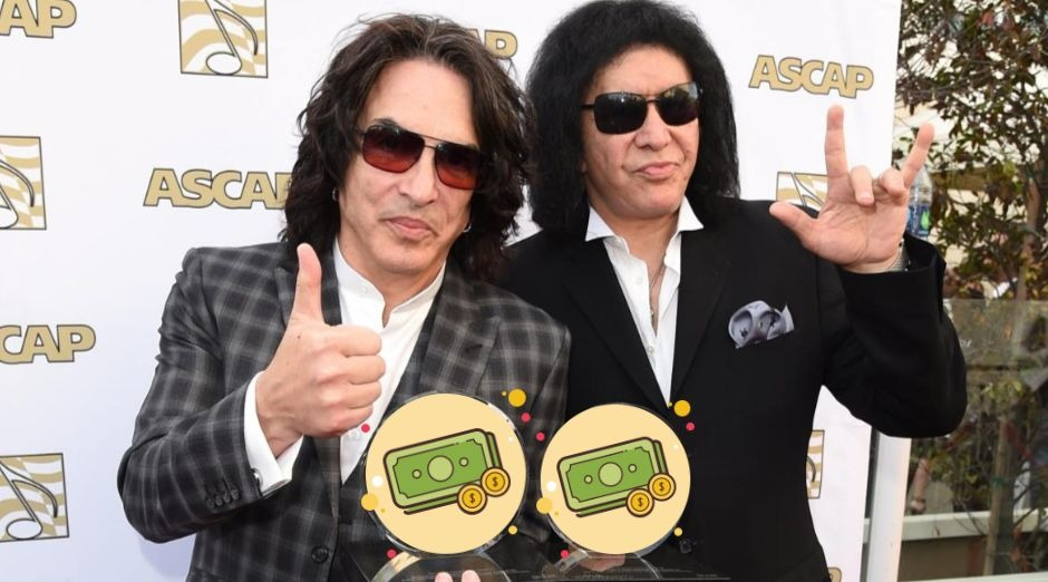 Kiss band Networth