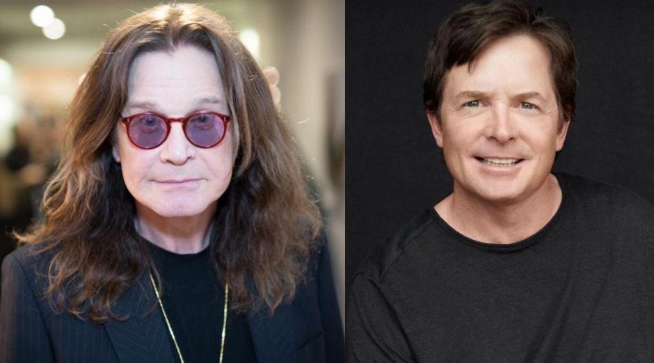 Ozzy Osbourne Michael J Fox