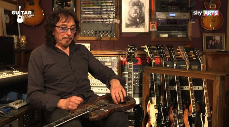 Tony Iommi donation