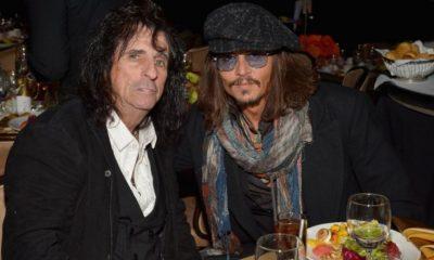 Johnny Depp Alice Cooper